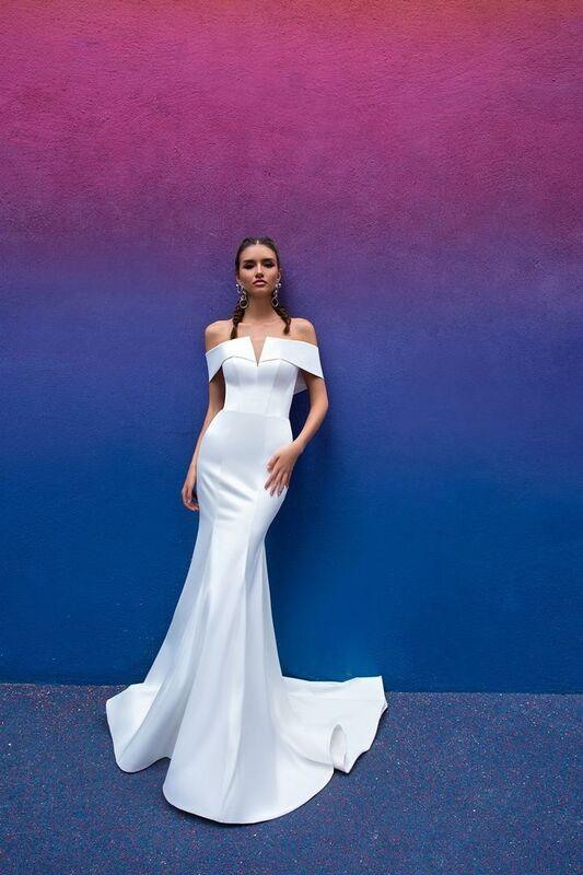 Свадебный салон Crystal Свадебное платье Wildin - фото 4