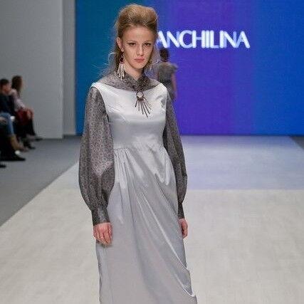 Белорусский дизайнер YANCHILINA Платье 1310 - фото 1