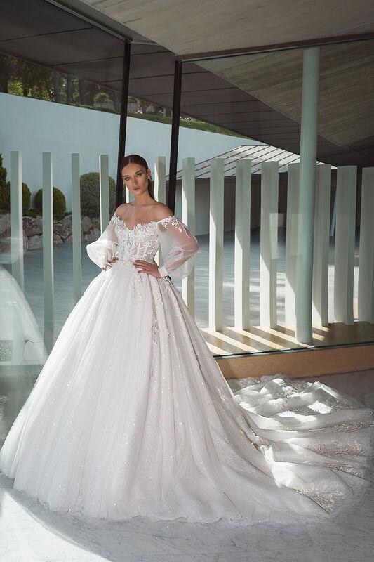 Свадебный салон Crystal Свадебное платье Cherry - фото 1