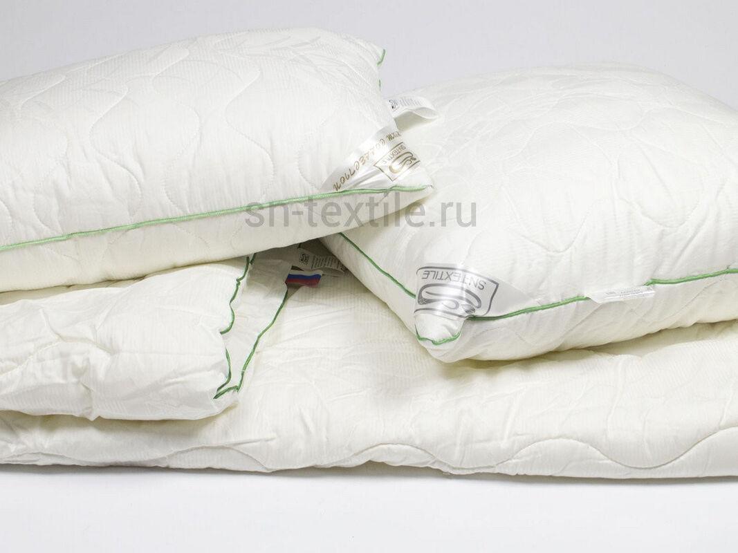 Подарок СН-Текстиль Подушка АЛЛЕГРО бамбук премиум 70х70 арт. ПББ-PR-070 - фото 2