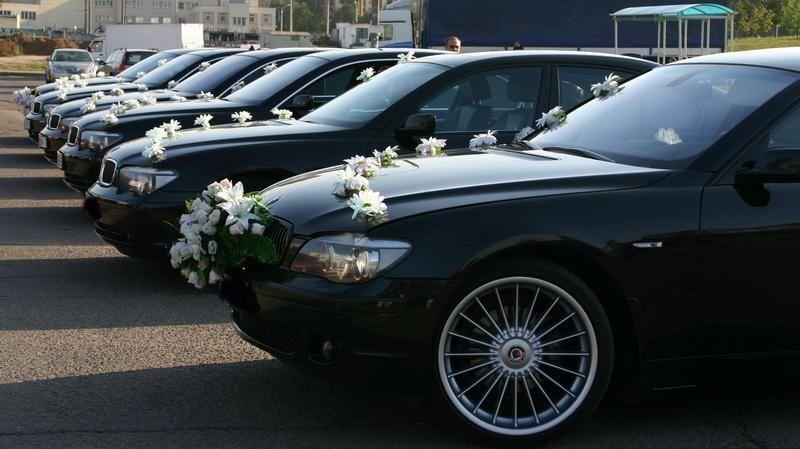 Прокат авто BMW E66 7 series черного цвета - фото 2