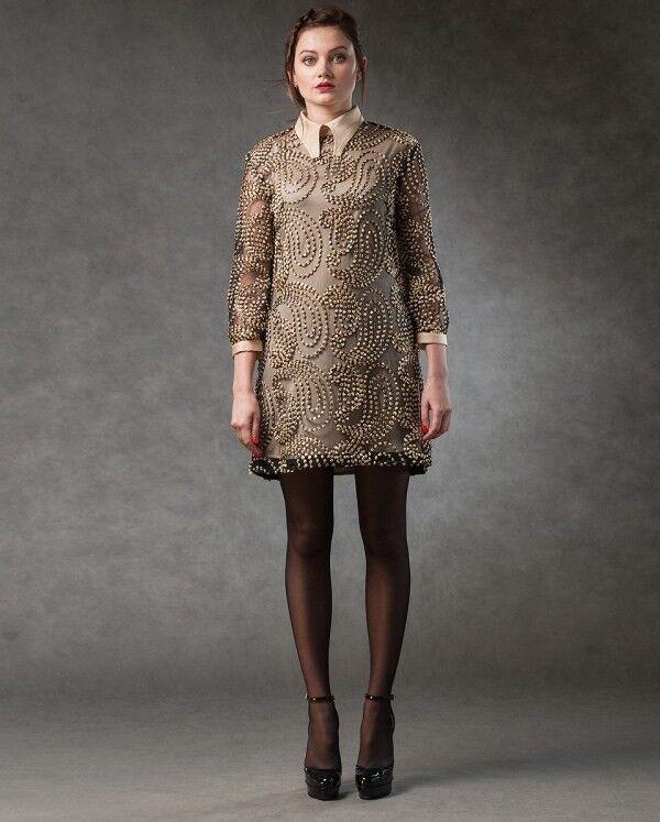 Платье женское MISUTERI Платье Eri Beige SS0120 - фото 1