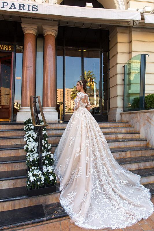 Свадебный салон Crystal Свадебное платье Chantale - фото 2