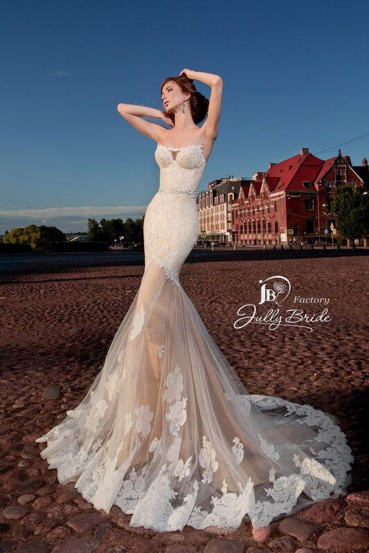Свадебное платье напрокат Jully Bride Factory Платье свадебное Malibu - фото 4