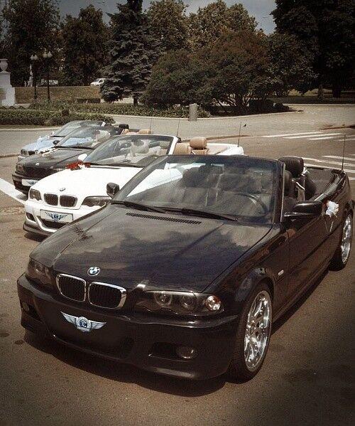 Прокат авто BMW E46 Coupe Cabrio, черного цвета - фото 2