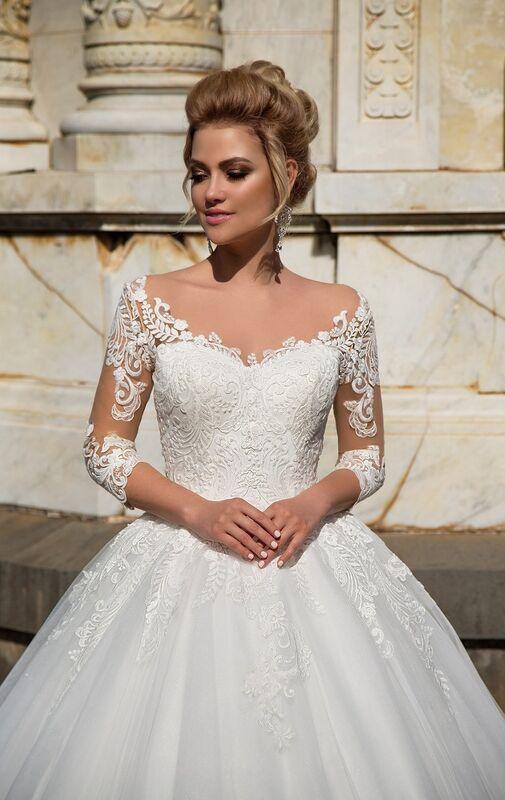 Свадебный салон NaviBlue Свадебное платье Lissa 17004 - фото 3