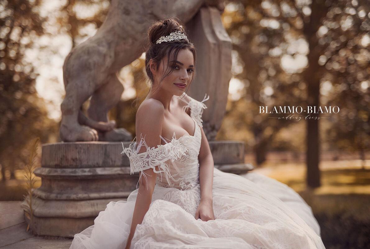 Свадебное платье напрокат Blammo-Biamo Платье свадебное The Rice  Lelei - фото 3