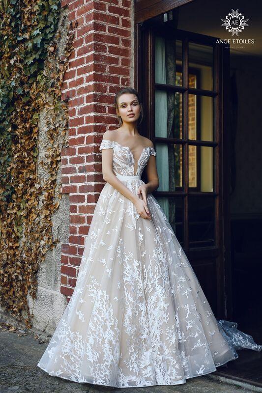 Свадебный салон Ange Etoiles Свадебное платье AEriality Collection  Etel - фото 1
