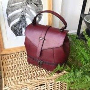 ca5c0a50f6b8 Купить Кожаный рюкзак C00196 Vezze в Минске – цены продавцов