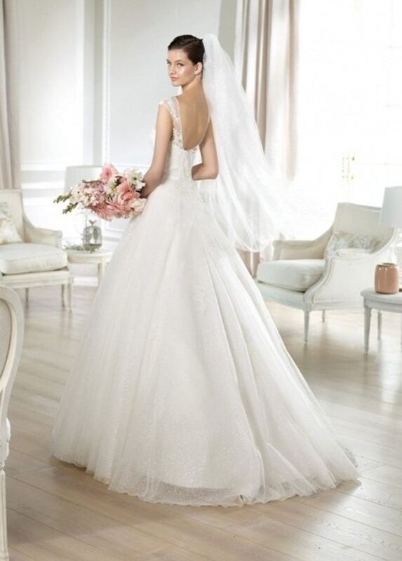 Свадебное платье напрокат White One (Pronovias) Платье свадебное «Jailyn» - фото 2