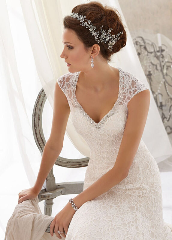 Свадебное платье напрокат Mori Lee Платье свадебное 5214 - фото 3