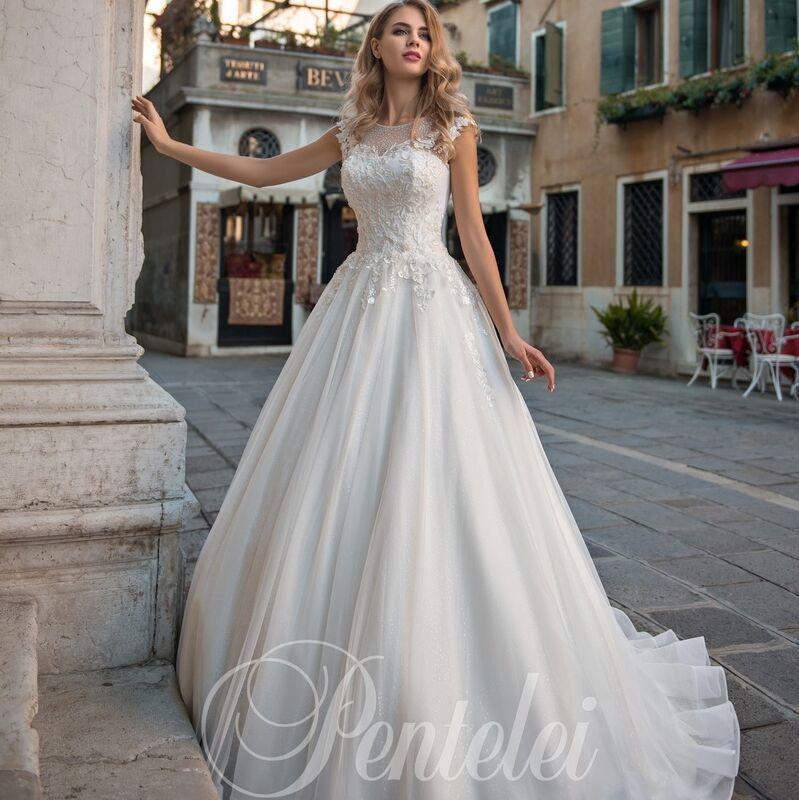Свадебное платье напрокат Lavender Свадебное платье Crystal - фото 1