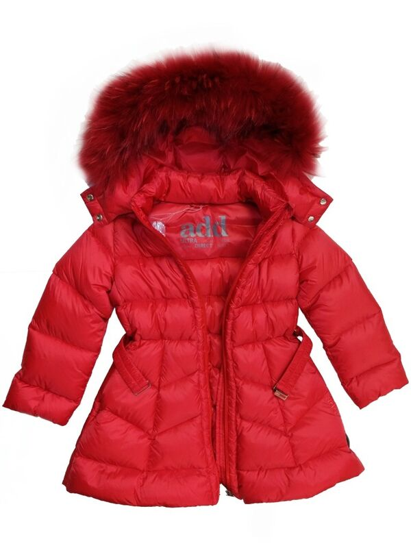 Верхняя одежда детская ADD Пальто для девочки IAG213-0 - фото 2