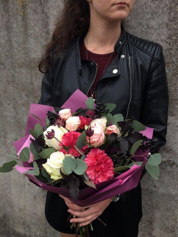 Магазин цветов VGosti.by Букет «Душевный» - фото 2