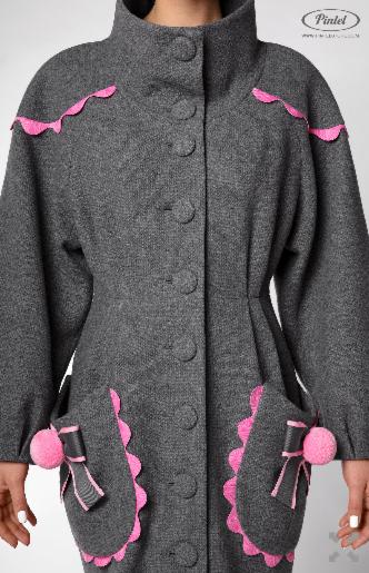 Верхняя одежда женская Pintel™ Пальто Mazaä - фото 6