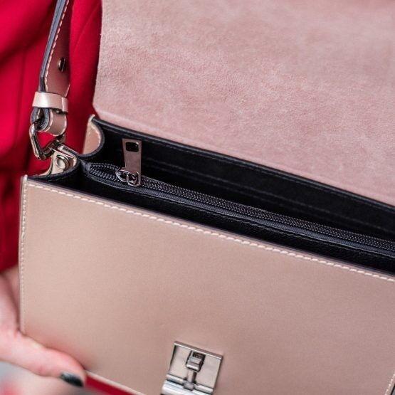 Магазин сумок Vezze Кожаная женская сумка C00495 - фото 4