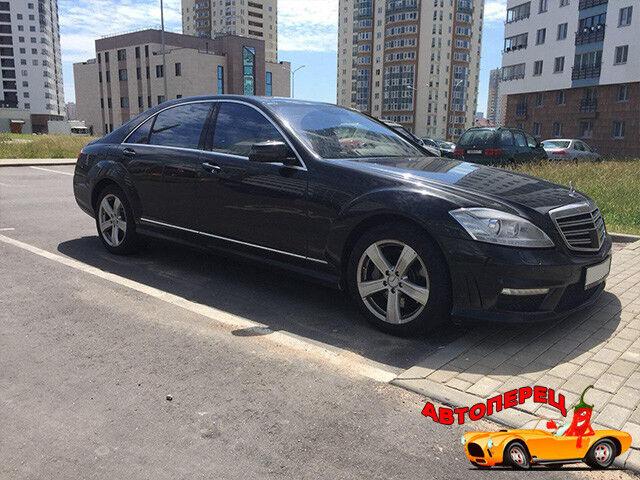 Прокат авто Mercedes-Benz w221 S-class long - фото 1