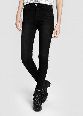 Брюки женские O'STIN Базовые суперузкие джинсы с высокой посадкой LPD107-95 - фото 2