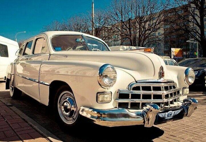 Прокат авто ГАЗ 12 ЗИМ белый - фото 1