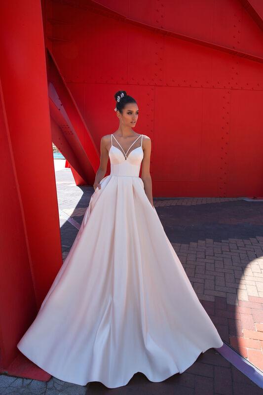 Свадебное платье напрокат Crystal Elis - фото 1