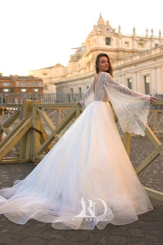Свадебное платье напрокат Rafineza Свадебное платье Emma напрокат - фото 2