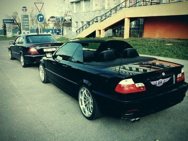 Прокат авто BMW E46 Coupe Cabrio, черного цвета - фото 3