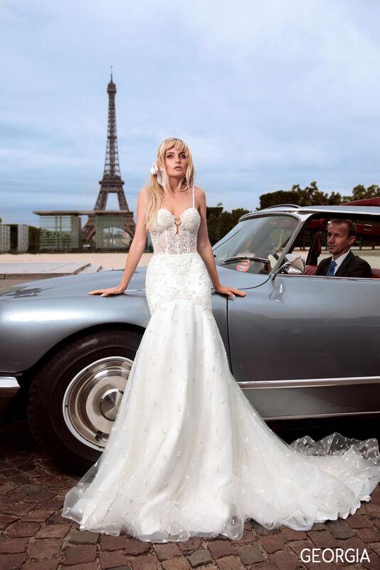 Свадебный салон Bonjour Galerie Платье свадебное GEORGIA из коллекции BON VOYAGE - фото 2