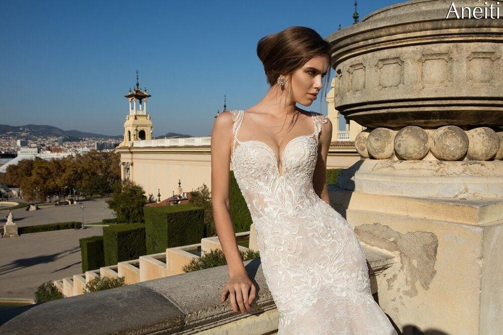 Свадебное платье напрокат Bonjour Платье свадебное «Aneitti» из коллекции LA POESIE 2017 - фото 2
