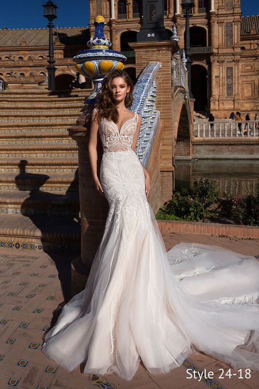 Свадебное платье напрокат Giovanna Alessandro Свадебное платье Ariela - фото 1