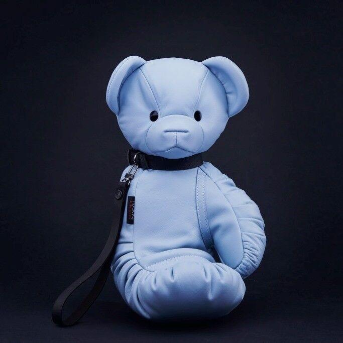 Магазин сумок IVAN AIPLATOV Сувенир-клатч Teddy Bear, голубой - фото 1