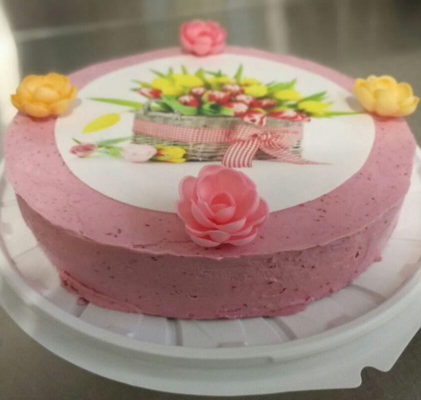 Торт Geldue Торт из мороженого «Тюльпаны» - фото 1