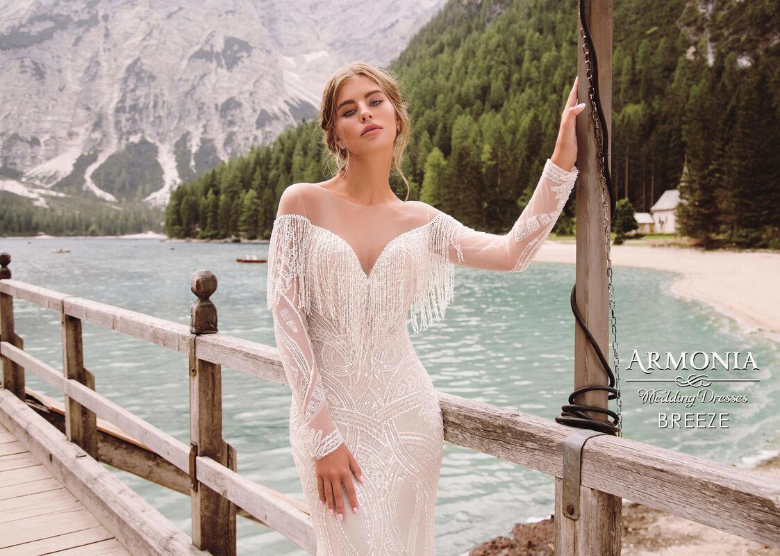 Свадебный салон Armonia Свадебное платье Breeze - фото 3