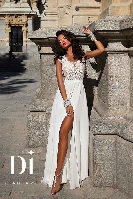 Свадебное платье напрокат Diantamo Платье свадебное Gracia - фото 1