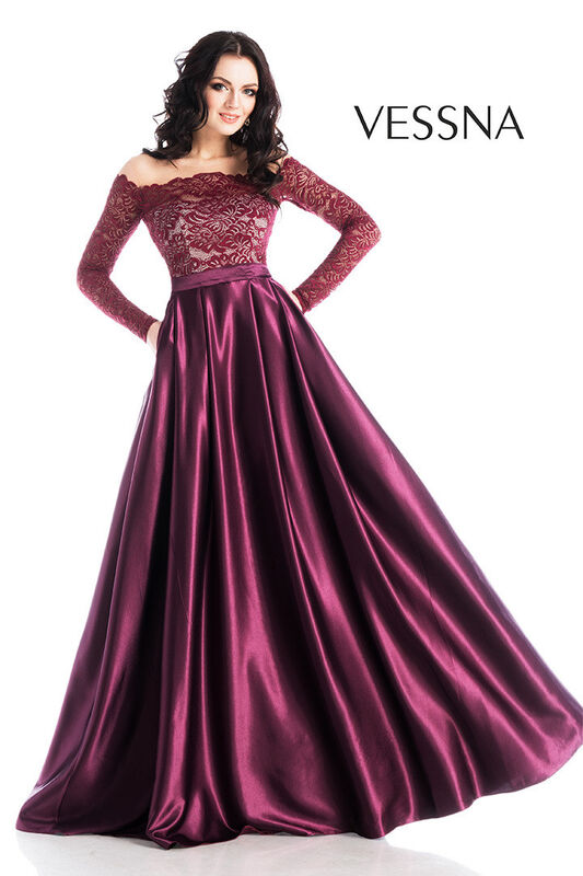 Вечернее платье Vessna Вечернее платье арт.1238 из коллекции VESSNA NEW - фото 1