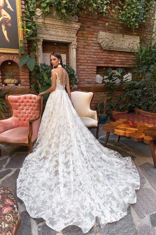 Свадебный салон Eva Lendel Свадебное платье Klaris - фото 3