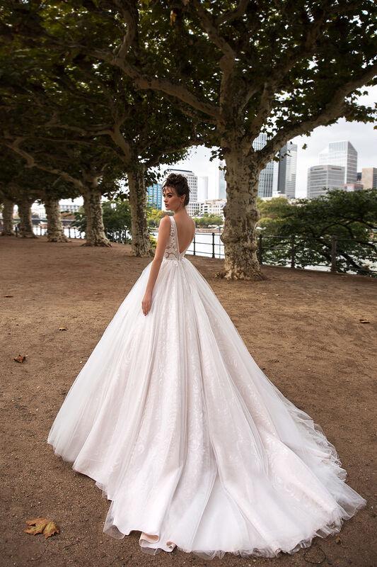 Свадебное платье напрокат Vanilla room Платье свадебное Энжел - фото 3