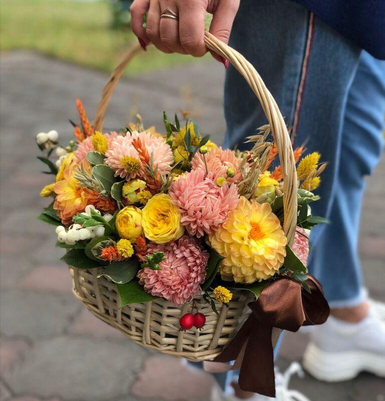 Магазин цветов Цветы на Киселева Композиция «Тёплая встреча» - фото 1