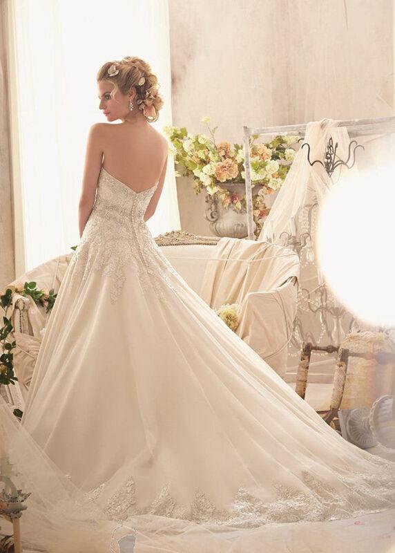 Свадебное платье напрокат Mori Lee Платье свадебное 2609 - фото 2