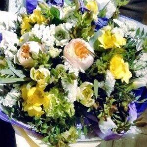 Магазин цветов Прекрасная садовница Букет весенний - фото 1
