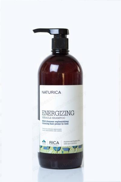 Уход за волосами Naturica Шампунь «Чудо энергии», 1000 мл - фото 1