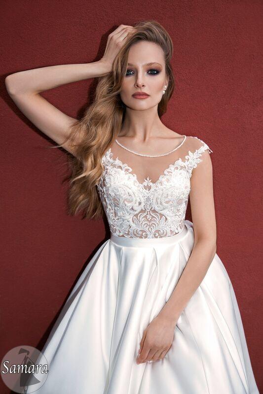 Свадебное платье напрокат Bonjour Платье свадебное «Samara» из коллекции LE DELICE 2018 - фото 3