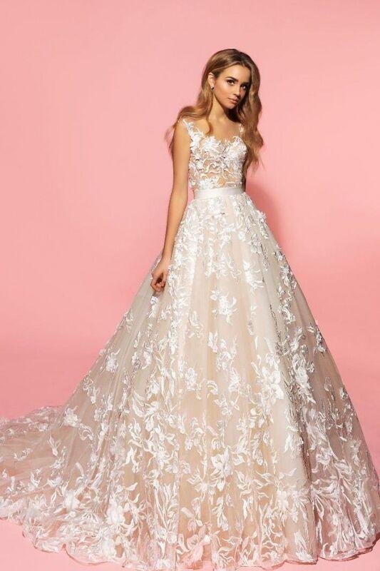 Свадебный салон Eva Lendel Свадебное платье Sandy - фото 1