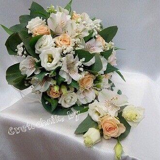 Магазин цветов Цветочник Букет невесты №1 - фото 1