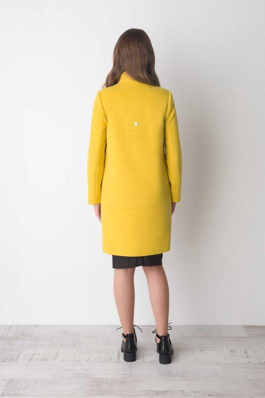 Верхняя одежда женская Elema Пальто женское демисезонное Т-6249 - фото 3