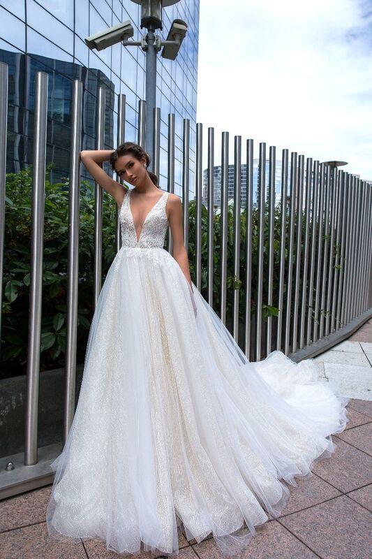 Свадебный салон Crystal Свадебное платье Sara - фото 1