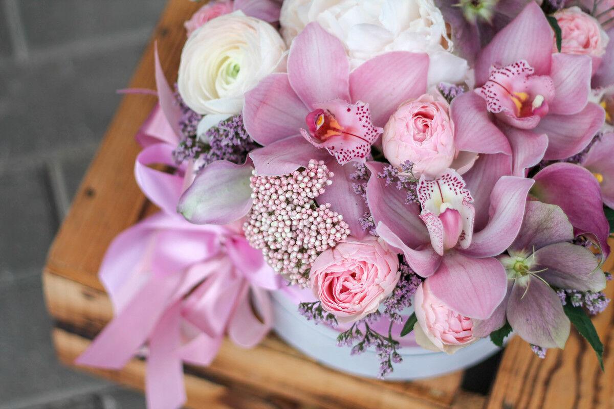 Магазин цветов Cvetok.by Коробочка «Нежный бархат» - фото 2
