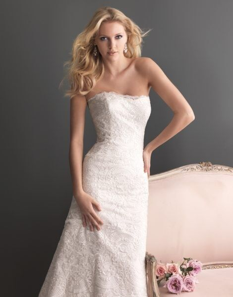 Свадебное платье напрокат Allure Bridals Платье свадебное 2600 - фото 3