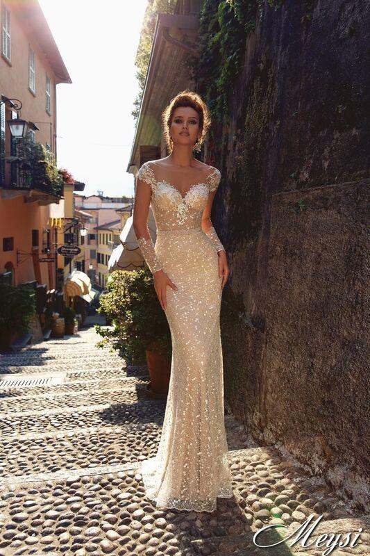Свадебный салон Bonjour Galerie Свадебное платье Meysi из коллекции Royal Luxury - фото 1