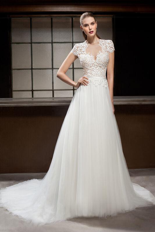 Свадебное платье напрокат Cosmobella Свадебное платье 7844 - фото 1