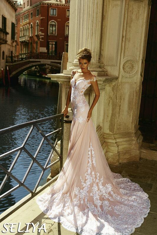 Свадебный салон Bonjour Galerie Свадебное платье Seliya из коллекции La Douceur - фото 1
